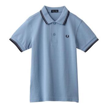 <フレッドペリー>【キッズ】ツインティップ フレッドペリーシャツ