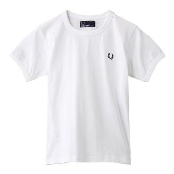 <フレッドペリー>【キッズ】リンガーTシャツ
