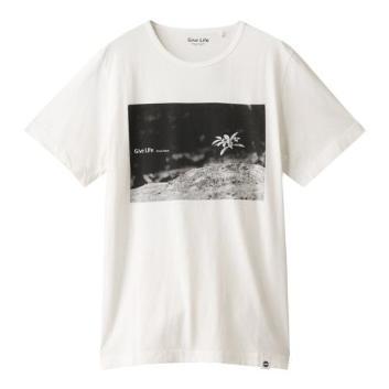 <ジム>オーガニックコットンプリントTシャツ