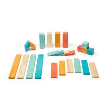 <Tegu>teguマグネットブロック 24ピース サンセット
