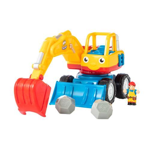 <WOW Toys>ショベルカーのデクスター