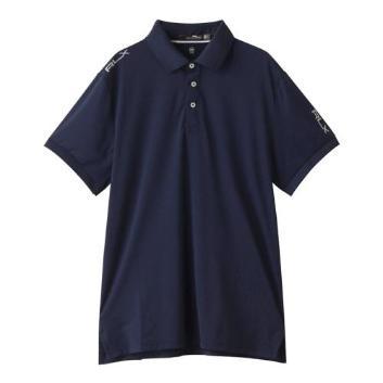 <RLXゴルフ>【吸湿発散】【UV】【ストレッチ】ゴルフ ポロシャツ