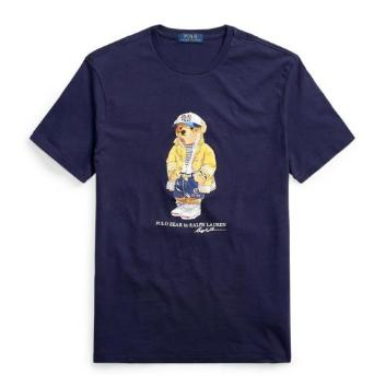 <ラルフ ローレン>ベアプリント Tシャツ