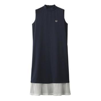 <フレッドペリー>SLEEVELESS PIQUE DRESS
