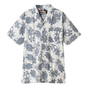 <ジム>【メンズクラブ8・9月号掲載】パイナップルプリントオープンカノコシャツ