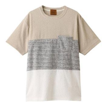 <ジム>ランダムパイル切り替えTシャツ
