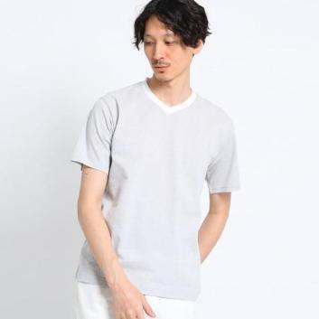 <タケオキクチ>トライアングルドットJQ 半袖カットソー