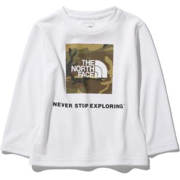 <ザ・ノース・フェイス>【キッズ】カモロゴ ビーフリーTシャツ