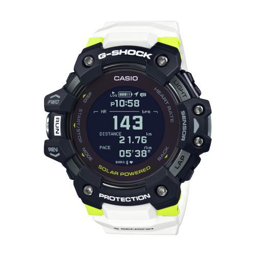 <カシオ>G-SHOCK G-SQUAD 心拍計+GPS機能搭載 GBD-H1000-1A7JR