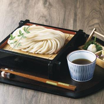 「藤麺」包丁切りさぬき半生うどん