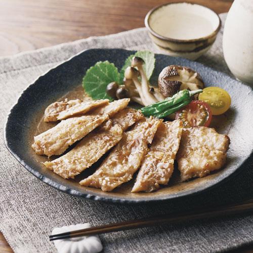 国産豚ロース西京白味噌仕立て