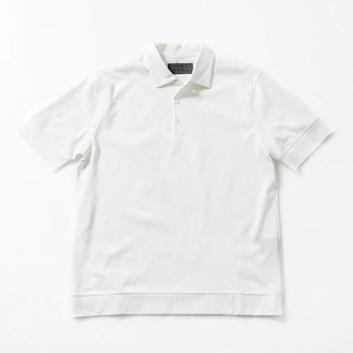 <ナノ・ユニバース>FORMAL JERSEY ポロシャツ