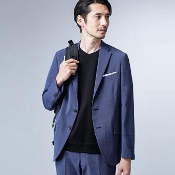 <ナノ・ユニバース>ナノグラビティHOME CLEANINGジャケット LUXⅡ