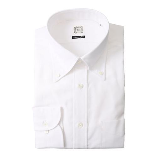 <麻布テーラー>ピンオックスシャツ