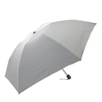 <デュナミス>【晴雨兼用】【軽量】【遮熱遮光】ステッチ折りたたみ傘ミニ