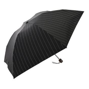 <デュナミス>【メンズクラブ8・9月号掲載】【晴雨兼用】【軽量】【遮熱遮光】ストライプ折りたたみ傘ミニ