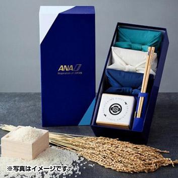 【新米】ANAオリジナル ミシュラン獲得料亭ご用達のお米 ANA升&箸付