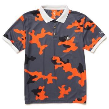 <ヴィ・トゥエルヴ>ライトカモ柄 ポロシャツ
