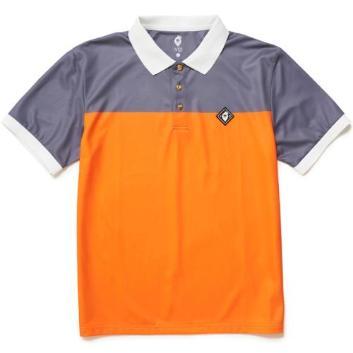 <ヴィ・トゥエルヴ>2トーン ポロシャツ
