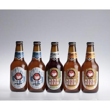 <常陸野ネストビール>5本セット