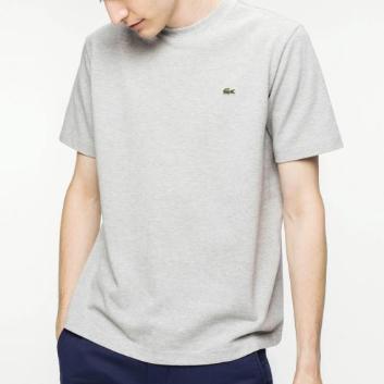 <ラコステ>鹿の子クルーネックTシャツ(半袖)