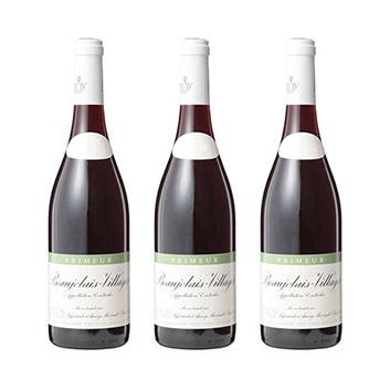 【送料無料】<ルロワ>ボージョレ・ヴィラージュ プリムール【2020】(赤ワイン)3本セット