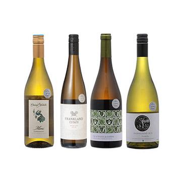【送料無料】2019年度機内ワイン ビジネスクラス白ワイン4本セット