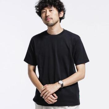 <ナノ・ユニバース>【Anti Smell】 クルーネックTシャツ 半袖