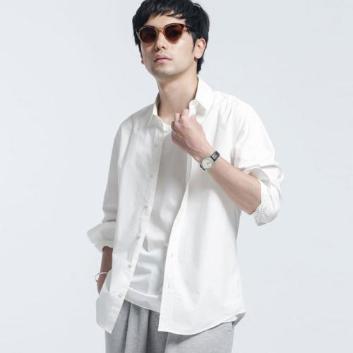 <ナノ・ユニバース>【WHITENING LAB】  レギュラーシャツ