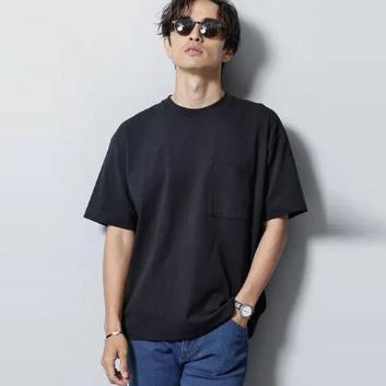 <ナノ・ユニバース>【Anti Smell】BIG Tシャツ 半袖