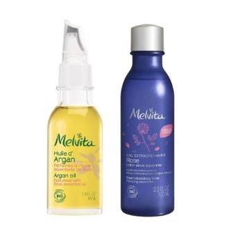 <メルヴィータ>化粧水ごくごく肌セット ローズ