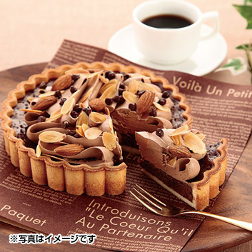 <アルポルト>チョコレートナッツタルト