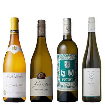【送料無料】A-styleソムリエが選んだ、星付きレストラン採用白ワイン4本セット