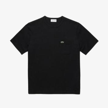 <ラコステ>ベーシッククルーネックポケットTシャツ(半袖)