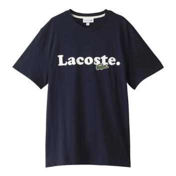 <ラコステ>フロッキーネームプリントTシャツ