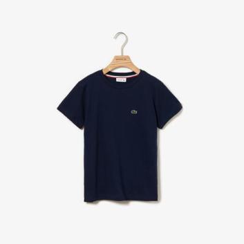 <ラコステ>【キッズ】コットンジャージー クルーネックTシャツ