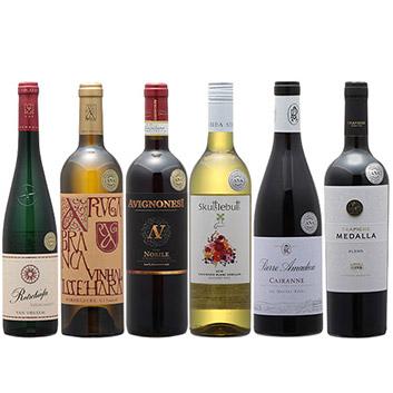 2019年度機内ワイン ファーストクラス、ビジネスクラス赤白6本セット
