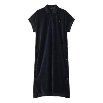 <フレッドペリー>VELOUR DRESS