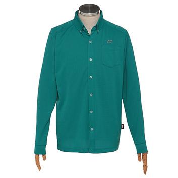<ヨネックス>メンズ ゴルフ 長袖ボタンダウンシャツ(GWF1587)