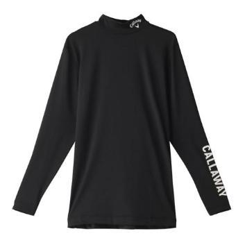<キャロウェイアパレル>【吸汗速乾】【UPF50】【抗菌防臭】ストレッチハイネックインナーシャツ