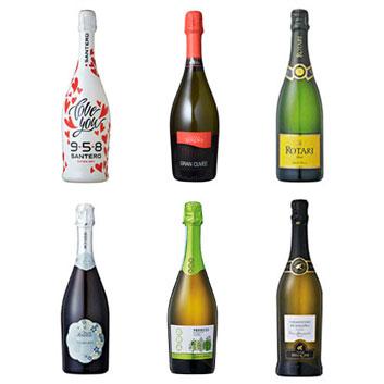 【送料無料】本間チョースケセレクト!プロセッコ入り!イタリアスパークリングワイン6本セット