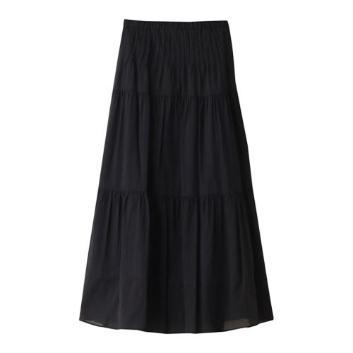 <スリードッツ>Cotton lone skirt