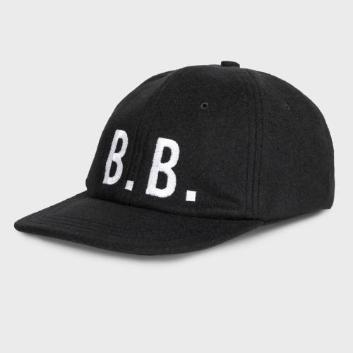 <ブルックス ブラザーズ>ウール/ナイロン B.B. ベースボール キャップ