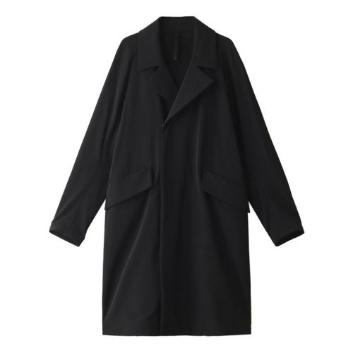 <エイチアイピーバイソリード>SLBRUSHED NYLON Double Breasted Coat
