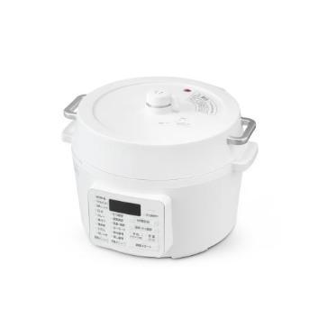 <アイリスオーヤマ>電気圧力鍋(PC-MA4-W)
