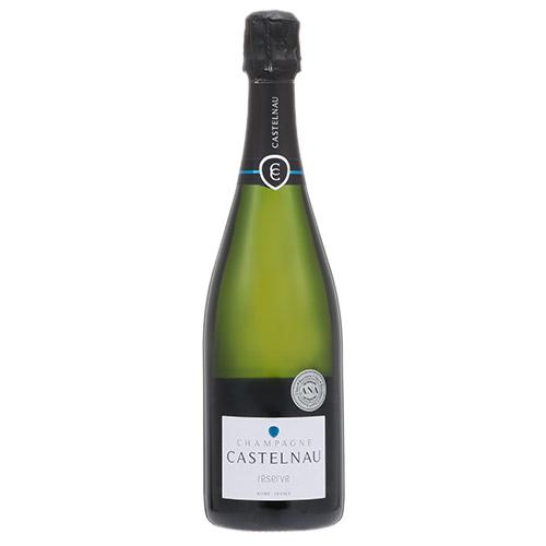 <カステルノー>シャンパーニュ・ド・カステルノー・ブリュット・レゼルヴ【NV】(白シャンパン)