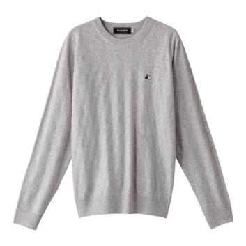 <ブラックアンドホワイト>【ウォッシャブル】カシミヤセーター