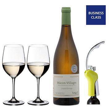【送料無料】2019年度国際線ビジネスクラス採用シャルドネワインで家飲みセット