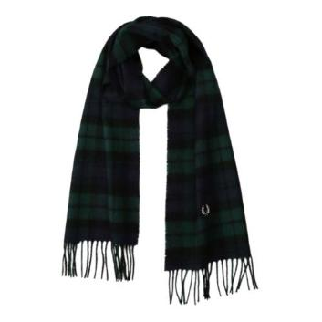 <フレッドペリー>BLACK WATCH TARTAN SCARF