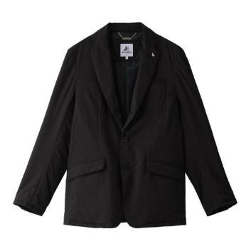 <ブラックアンドホワイト>【撥水】メガタフタ テーラードジャケット